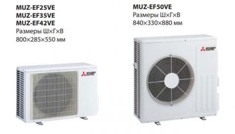 Mitsubishi Electric MSZ-EF25VE3S / MUZ-EF25VE