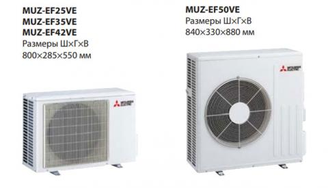 Mitsubishi Electric MSZ-EF42VE3S / MUZ-EF42VE