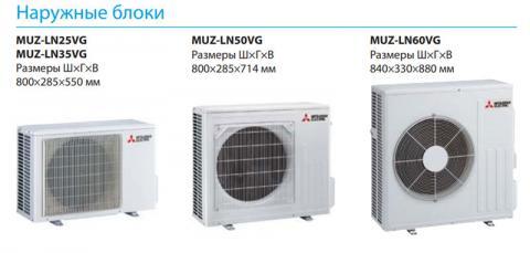 Mitsubishi Electric MSZ-LN60VGR / MUZ-LN60VG